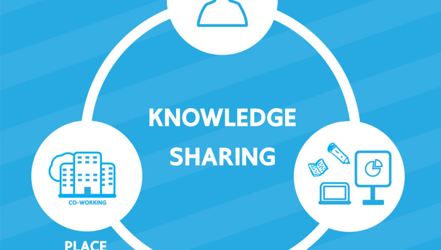 knowledge-sharing-vector-14187497